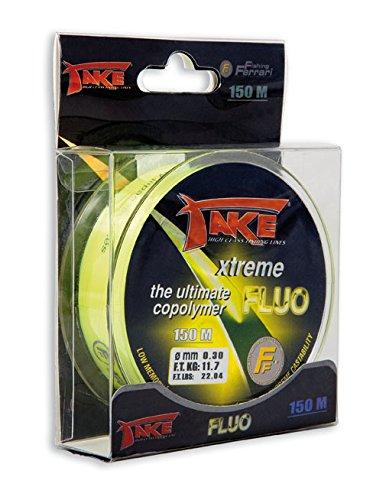 Monofil Take Xtreme Neon MT.150-20, gelb fluo