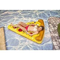 Colchoneta hinchable Pizza de 180x140 cm
