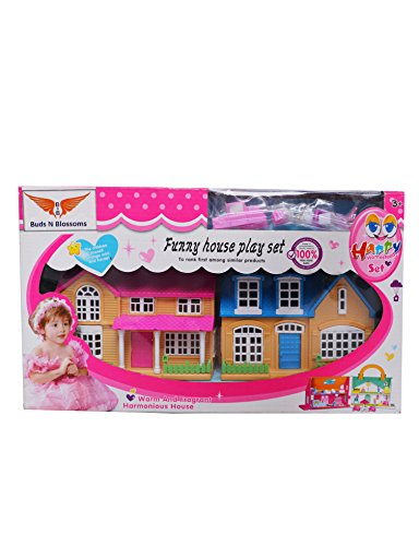 Buds N Blossoms Doll House With Accessories