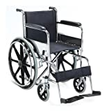 #5: KosmoCare Dura Rexine Mag Wheel Regular Foldable Wheelchair
