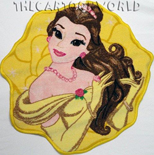 Alfombra Recorte antideslizante Disney Princesas–Bella Belle 67x 67cm