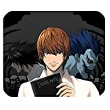 Death Note Custom Rechteck Gummi Mauspad Gaming Mousepad in 220mm, länglich * 180mm * 3mm