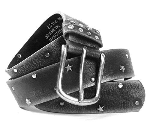 Lovely Lauri Vintage Sterne Gürtel Damengürtel Stern Nieten Nietengürtel