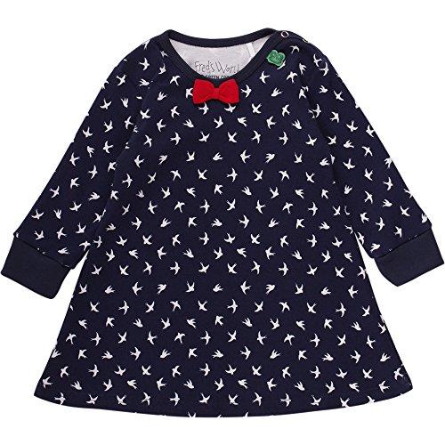 Fred's World by Green Cotton Baby-Mädchen Kleid Swallow Dress, Blau (Navy 019392001), 86 Preisvergleich