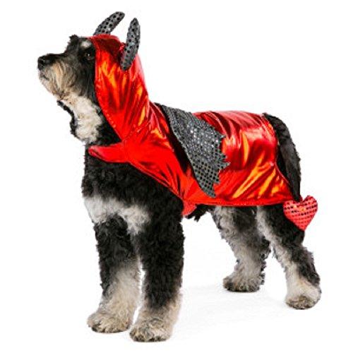Treat Kostüm Or Bilder Trick - Pet Halloween Hund 's Devil Kostüm-Größe Medium