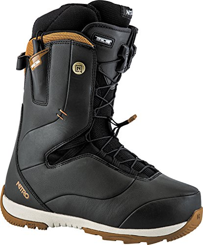 Nitro Snowboards Damen Crown TLS'18 Snowboard Boot, Black, 26,5 (Burton Freestyle Snowboard Boots)