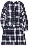 ESPRIT KIDS Mädchen Kleid RM3000309, Blau (Night Blue 449), (Herstellergröße:128+)