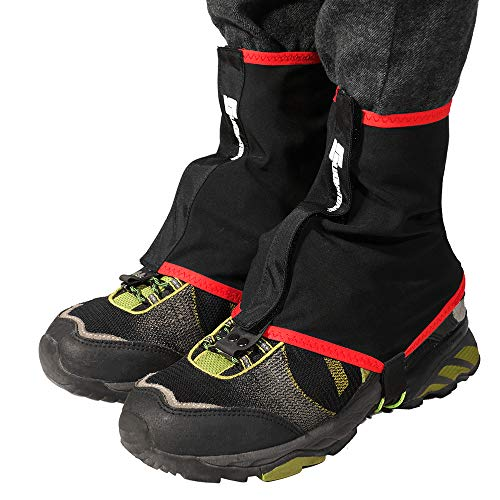 Lixada Gamaschen Outdoor Sports Running Trail Gamaschen Schutzüberschuhe