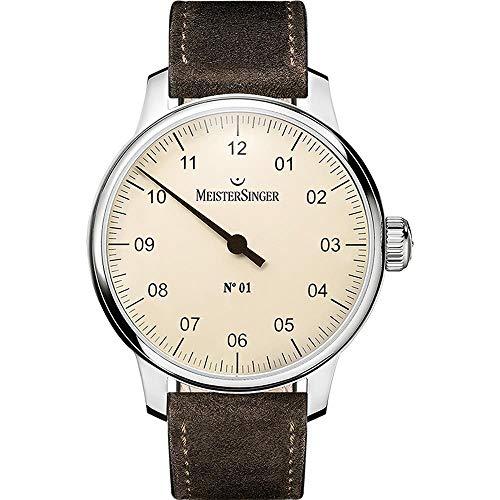 MeisterSinger N°01 - 40mm - DM303 Reloj con sólo una aguja