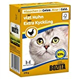 BOZITA Nassfutter BOZITA HÄPPCHEN in Gelee mit viel Huhn 1x 370g für Katzen
