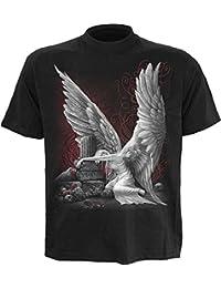 LES LARMES DU T-shirt des hommes AN ANGEL