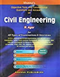 Civil Engineering: Objective Type and Conventional Questions and Answer (Old Edition)