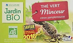 Jardin Bio Thé Vert Minceur 30 g - Lot de 4
