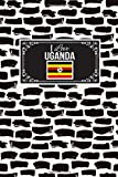 I Love Uganda: Patriotic Country National Flag Gift Journal Notebook