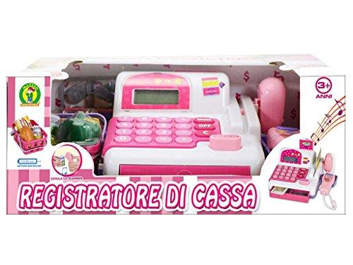 registratore di cassa con pistola scanner - mazzeo giocattoli