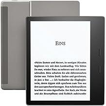 Der neue Kindle Oasis eReader, wasserfest, hochauflösendes 7 Zoll-Display (300 ppi), integriertes Audible, 32 GB, gratis 3G + WLAN