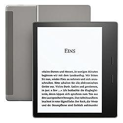 Kindle Oasis, wasserfest, 32 GB, gratis 3G + WLAN (Vorgängermodell - 9.Generation)