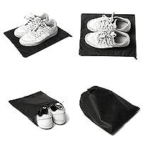 10Pcs-Black-Travel-Shoe-Storage-Bags-Pouch-Portable-Drawstring-Dust-Bags-LTM