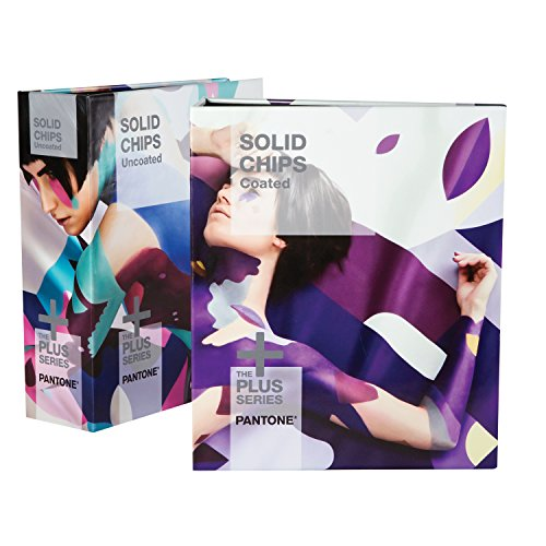 PANTONE PLUS GP1606N Solid Chips Coated & Uncoated [zwei Ringbücher]