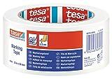 Tesa Bodenmarkierungs- und Warnband, 50mmx33m, Weiß