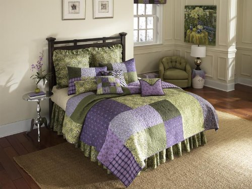 donna-sharp-vineyard-square-quilted-cotton-king-sham-purple-green-by-donna-sharp-inc