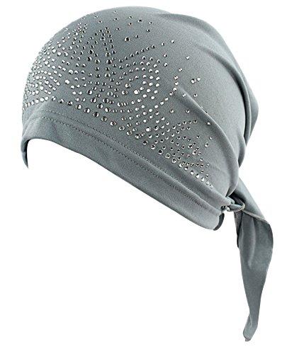 Mützen Schals Krebs, Und (Frauen's Strick Chemo Hut Mütze Schal, Turban Kopftuch für Krebs Patienten)