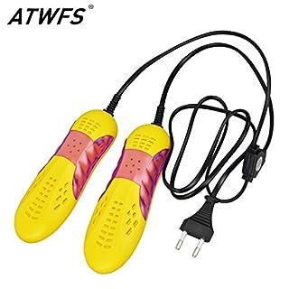 Tyro ATWFS Portable 220v Shoe Dryer Ultraviolet Shoe Sterilizer Car Shape Voilet Light Heater Dryer for Shoes Boot Heater