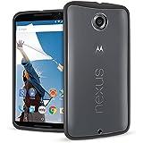 Orzly® - Motorola NEXUS 6 - Caja DURO Fusión Gel Funda NEGRO (Alias: Orzly® - Fusion Gel Hard Case BLACK Phone Cover Skin) para Google NEXUS 6 SmartPhone / Móvil - 2014 MOTOROLA MODEL
