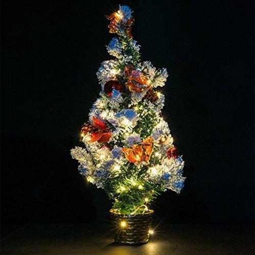prezzo Luci stringa, Ryham 50 LED 5M 16.4ft nozze lampada Wire Rope Natale luci a pile di filo di rame lungo per la casa camera da letto del partito Albero, bianco caldo