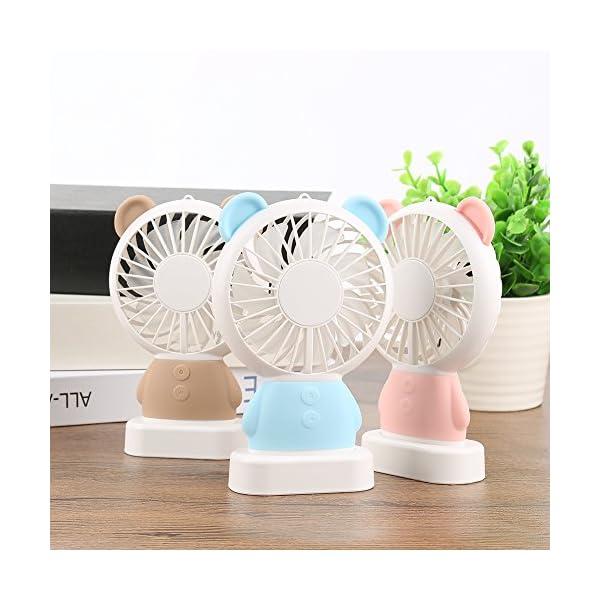 Mini-Ventilador-porttil-de-montaje-en-fro-con-luz-cambiante-de-color-Fan-Fang-Desktop