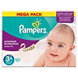 PAMPERS Active Fit Taille 3+ (Midi Plus) 5 a 10 kg