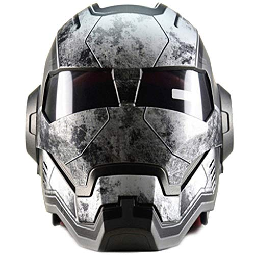 Wthfwm Marvel Motocross Casco Iron Man Mountain Bike