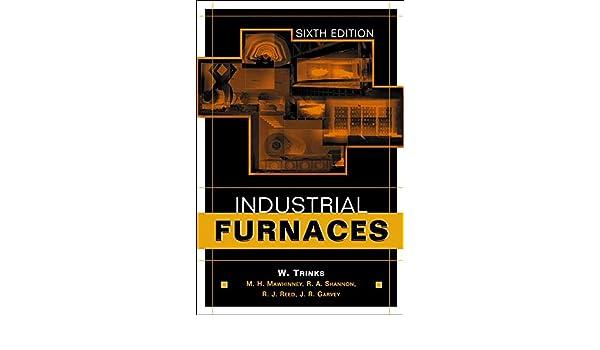 INDUSTRIAL FURNACES TRINKS PDF