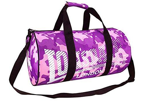 Barrel Tasche Reisetasche Sports Gym Travel Bags Pink/Purp Camo