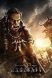 Warcraft Two Worlds. One Home Durotan Film Kino Fantasy Poster - Grösse 61x91,5 cm + 1 Ü-Poster der Grösse 61x91,5cm