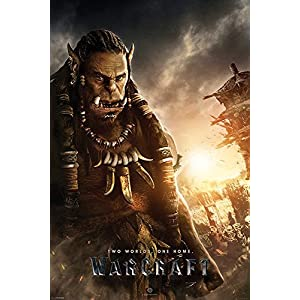 World of Warcraft – Two Worlds One Home Durotan Poster