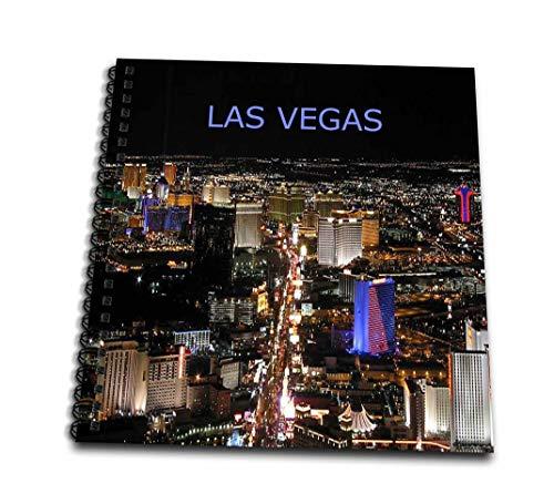 3dRose Las Vegas die Strip-Drawing Buch, 8von 20,3cm (DB 4_ 1) Db-papier