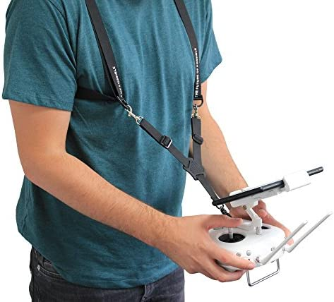 Duragadget Harnais Noir pour télécomFemmede de Drone avec réglage Personnalisable Garantie de 2 Ans   New Style,En Ligne