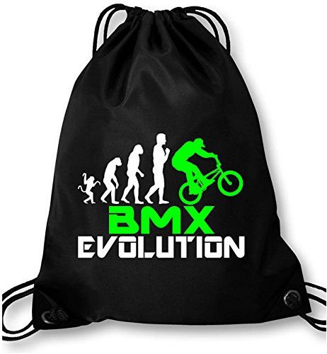EZYshirt BMX Evolution Turnbeutel