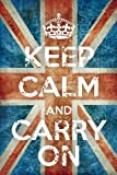 Keep Calm - Poster - Union Jack Vintage + Ü-Poster