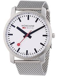 Mondaine Herren-Armbanduhr SBB Simply Elegant 41mm Analog Quarz A6383035016SBM