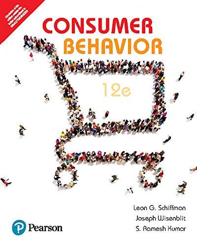 Consumer Behavior by Pearson