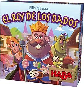 HABA- Juego de Sociedad El Rey de los Dados, Talla Única (303805)