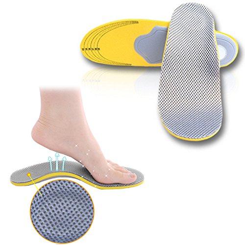 Scarpe da ginnastica con complete di solette a doppia densità per alleviare il dolore e plantari per Donne