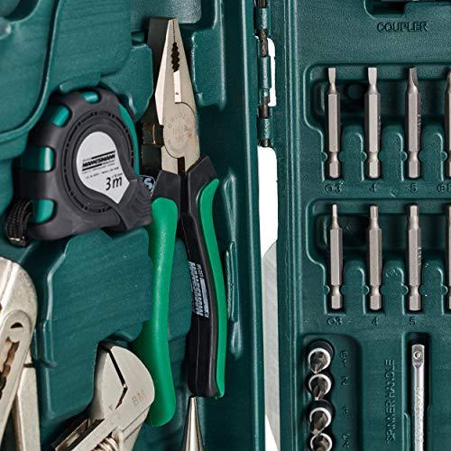 Mannesmann 89-teiliger Premium Universal- und Haushalts-Werkzeugkoffer, M29085 - 5
