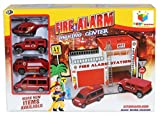 #5: Toys Bhoomi Safe Zone City Fire Alarm Station Parking Lot Garage Toy Playset