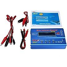 niceeshop(TM) IMAX B6 Lipo NiMh Li-ion Ni-Cd RC Cargador del Balance de Batería Digital de Pantalla LCD (Azul)