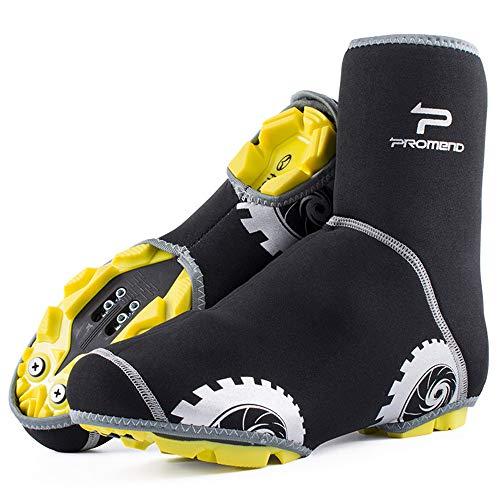 LCPG Fahrradschuhe Abdeckung, Wasserdichte Reflektierende Radfahren Überschuhe, Winddicht Fahrrad Überschuhe Regen Schnee Boot Protector Füße Gamaschen (größe : M 37-40) (Boot-gummi-fuß-abdeckung)