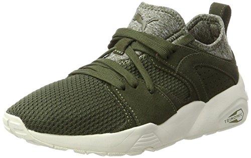 Puma Unisex-Erwachsene Blaze CT Sneaker, Grün (Olive Night-Whisper White), 45 EU (Wildleder Puma-schuhe Männer)