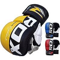 RDX MMA Gants Maya Hide Cuir Entrainement Sparring UFC Art Martiaux Sac De Frappe Combat Kickboxing